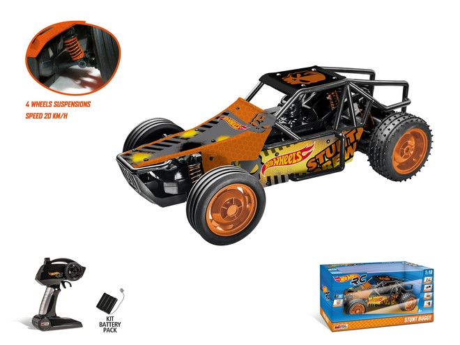 63437 - HOT WHEELS STUNT BUGGY