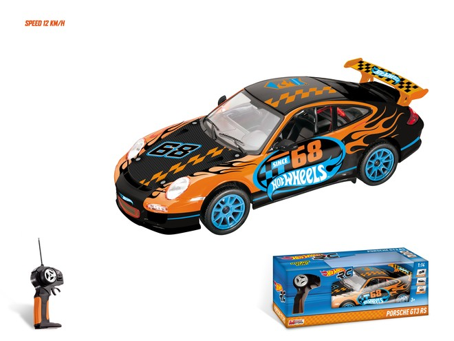 63393 - HOT WHEELS PORSCHE GT3 R/C