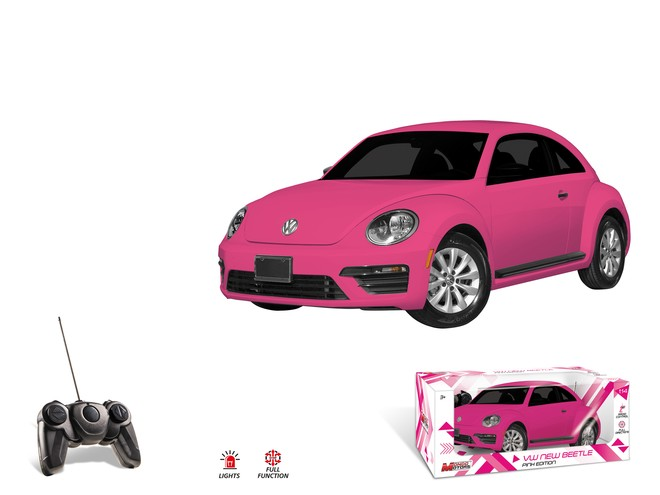 63532 - VW NEW BEETLE - pink edition