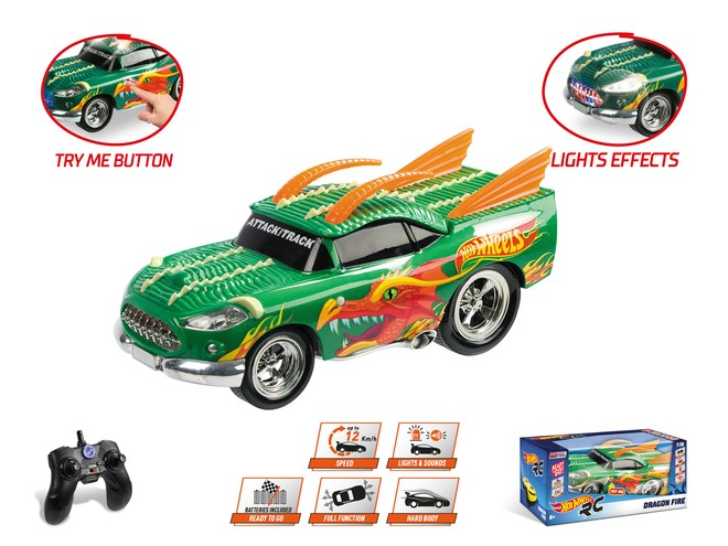 63506 - HOT WHEELS DRAGON FIRE