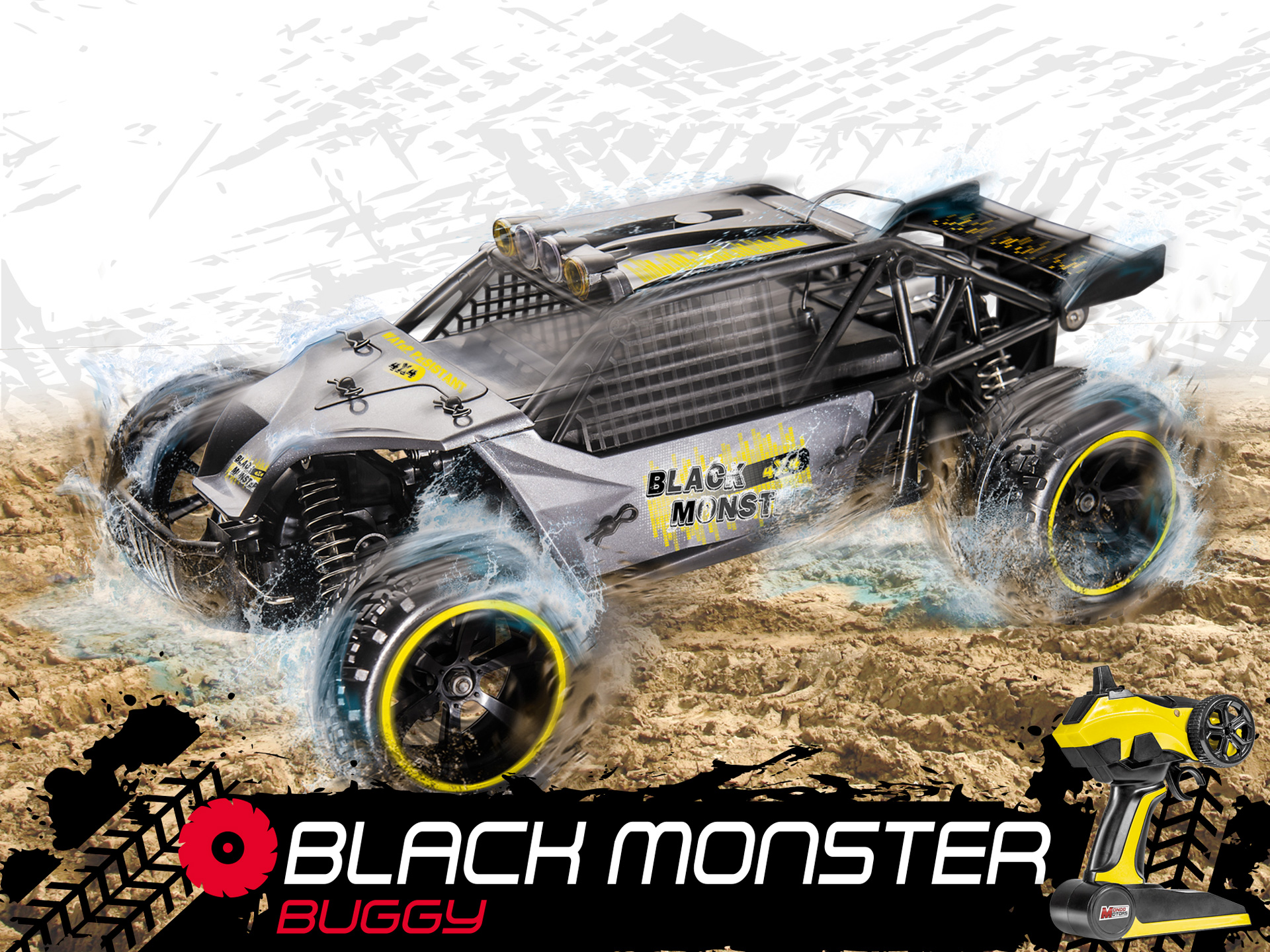Mondo Motors Black Monster